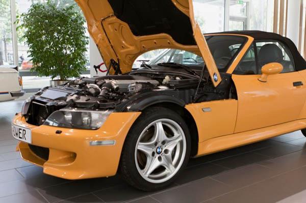 В планах BMW был родстер Z3 с двигателем V12