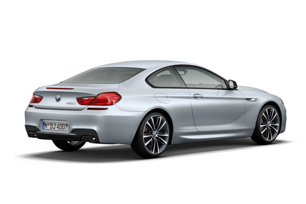 BMW 6-Series Coupe Frozen Silver Special Edition