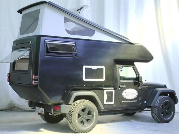 Thaler превратил Jeep Wrangler в «дом на колесах»