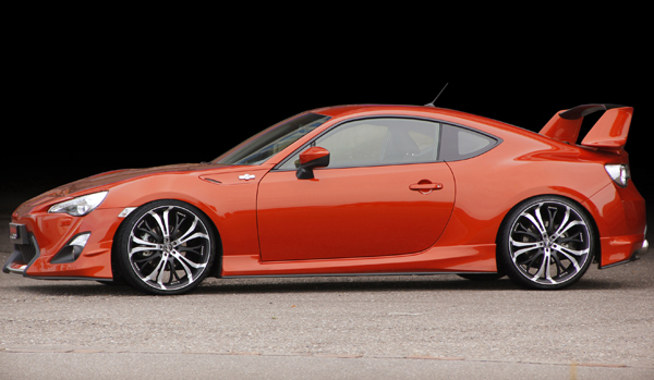 Toyota GT86 от Barracuda Racing Wheels