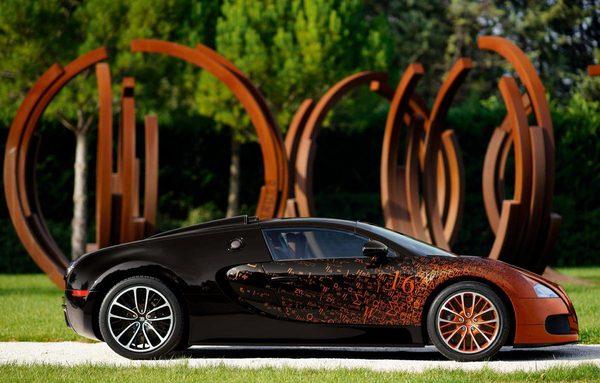 Bugatti Veyron превратили в произведение искусства