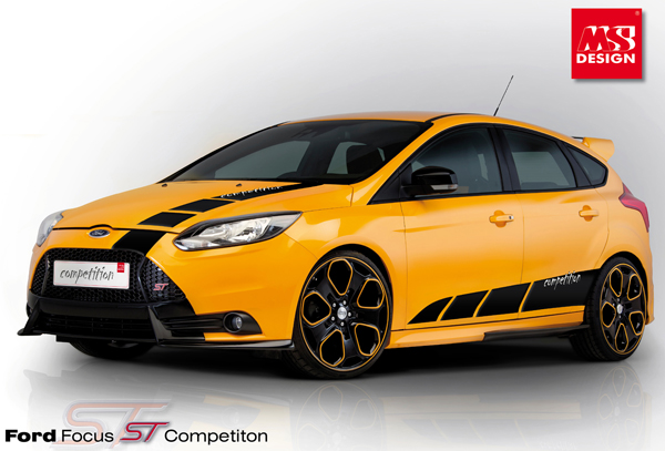 Ford Focus ST Competition от MS Design
