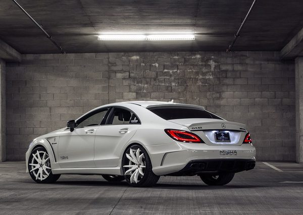 Mercedes-Benz CLS в тюнинге Misha Designs