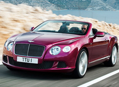 Bentley рассекретил Continental GTC Speed 2013