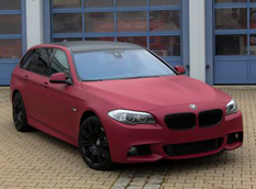 BMW 5-Series Touring F11 от Schwaben Folia