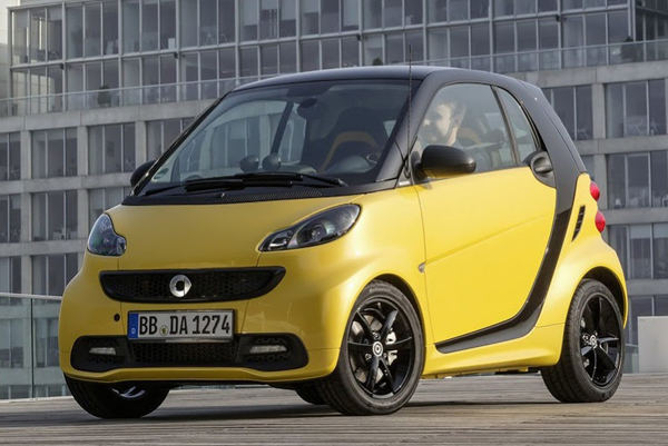 ForTwo CityFlame Edition - новинка от Smart