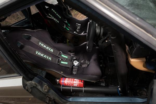 Фургон Volvo 245 GLT превратили в дрифт-кар
