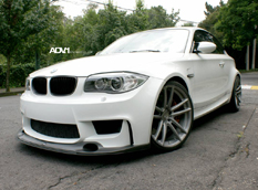 BMW 1-Series M Coupe от ADV.1 Wheels