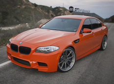 BMW M5 (F10) Valencia Orange от AE Performance