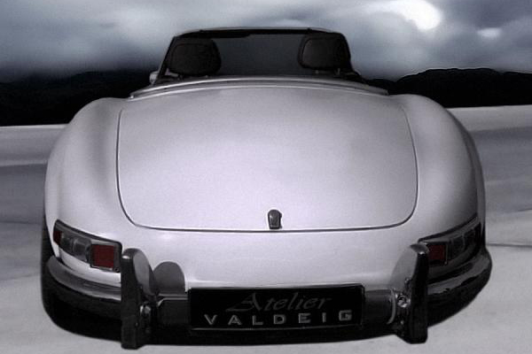 Mercedes-Benz 300 SL Roadster от Atelier Valdeig