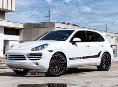 Porsche Cayenne S от Vellano Wheels и MC Customs