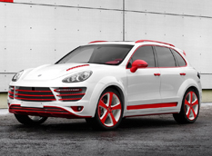 Porsche Cayenne Vantage 2 Red Dragon от TopCar