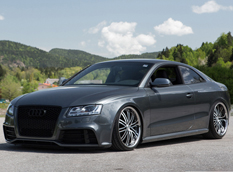 Лоурайдер Audi RS5 Coupe от Vossen Wheels
