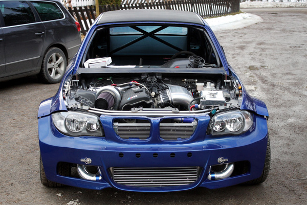 BMW 1-Series (E82) превратили в 800-сильный болид