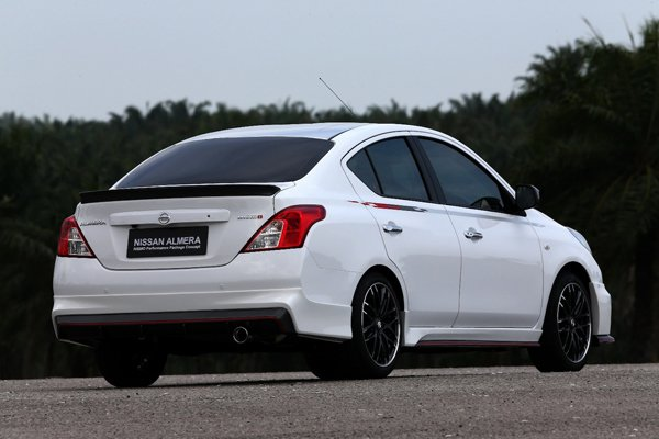 Nissan Almera Nismo Performance Package Concept