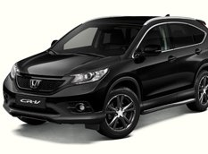 CR-V Black Edition - новая спецверсия от Honda
