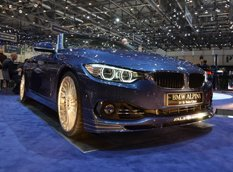Женева 2014: Alpina 4-Series BiTurbo Convertible