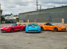 Chevrolet Corvette Stingray Сonvertible от Forgiato Wheels