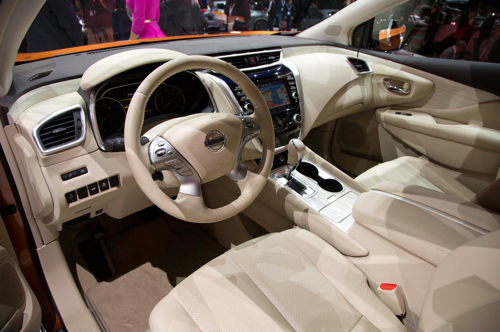Тест-драйв Nissan Murano (2015)
