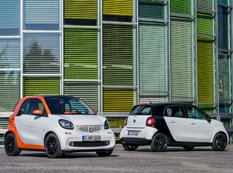 Smart представил компакт-кары ForTwo и ForFour 2015 года
