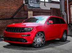 Jeep Grand Cherokee SRT8 на 24-дюймовых дисках Forgiato Wheels