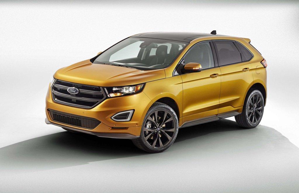 Тест-драйв Ford Edge (2015)