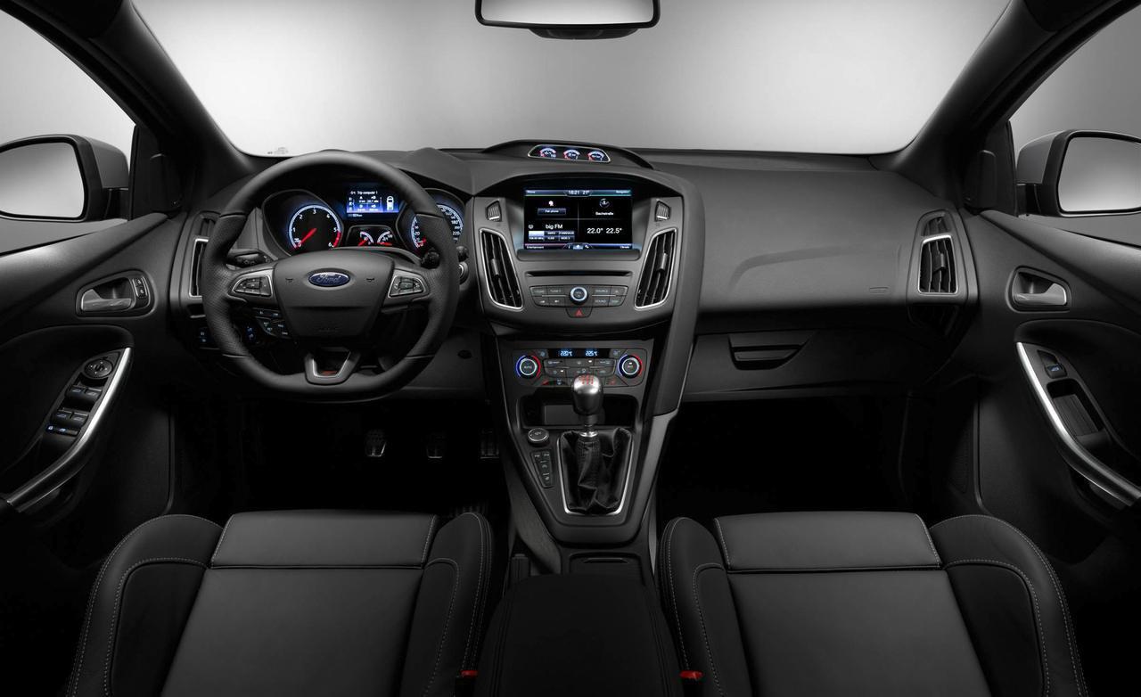 Тест-драйв Ford Focus ST (2015)