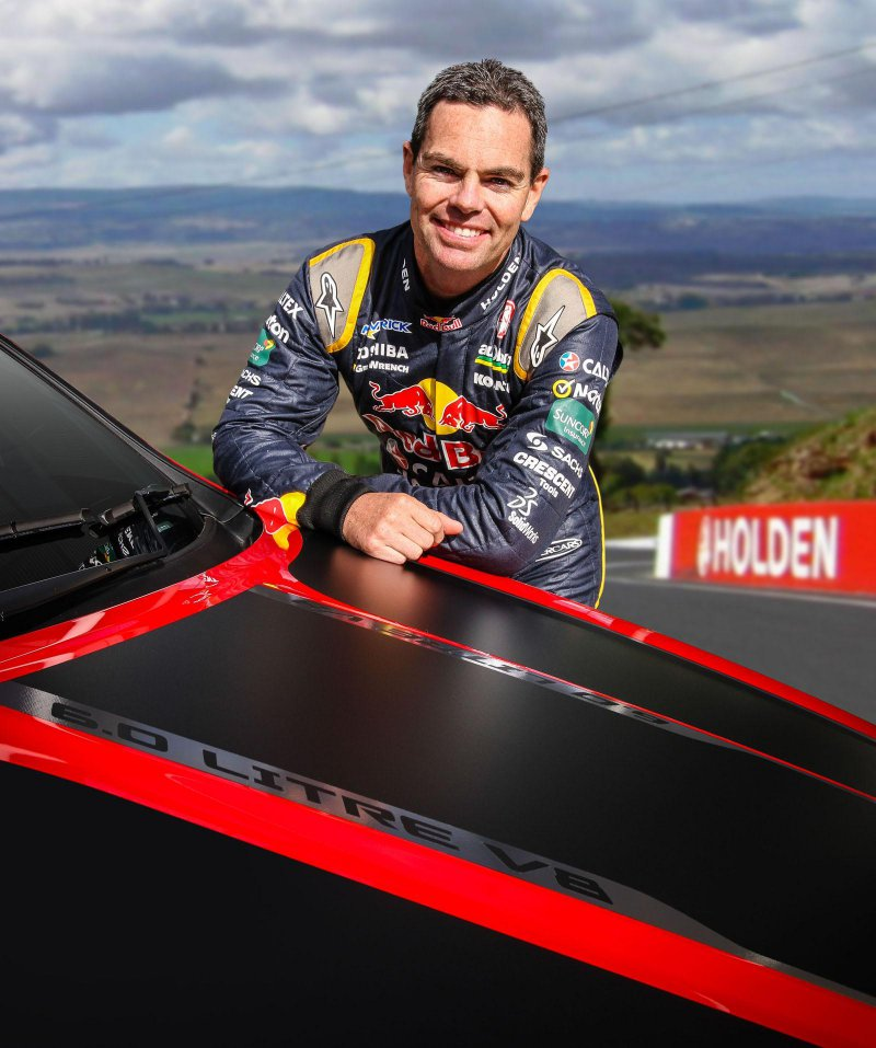 Holden представил Commodore Craig Lowndes SS V Special Edition
