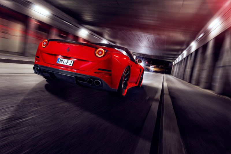 Ferrari California T N-Largo от Novitec Rosso