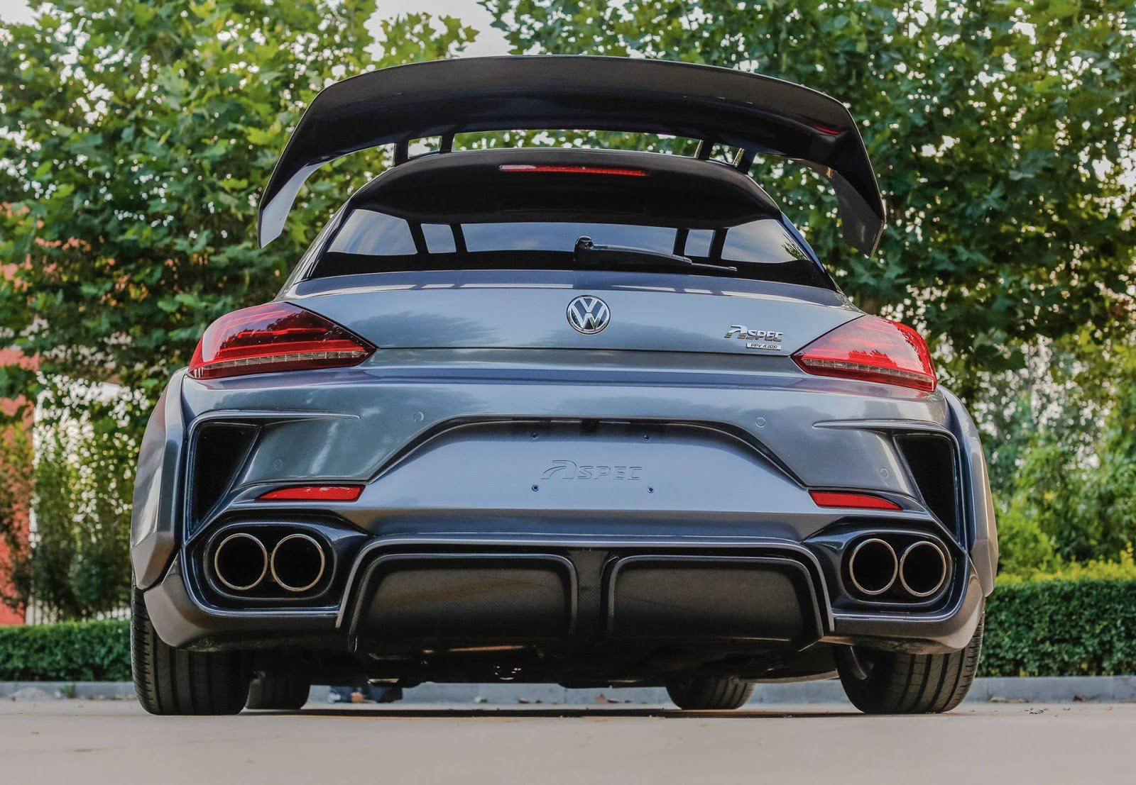 1477066631 vw scirocco r widebody monster by aspec comes from china 7 - Volkswagen VW Scirocco R от Aspec