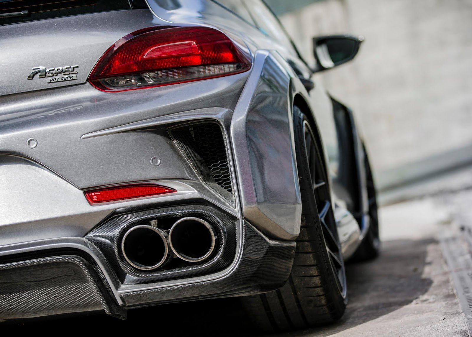 1477066650 vw scirocco r widebody monster by aspec comes from china 21 - Volkswagen VW Scirocco R от Aspec
