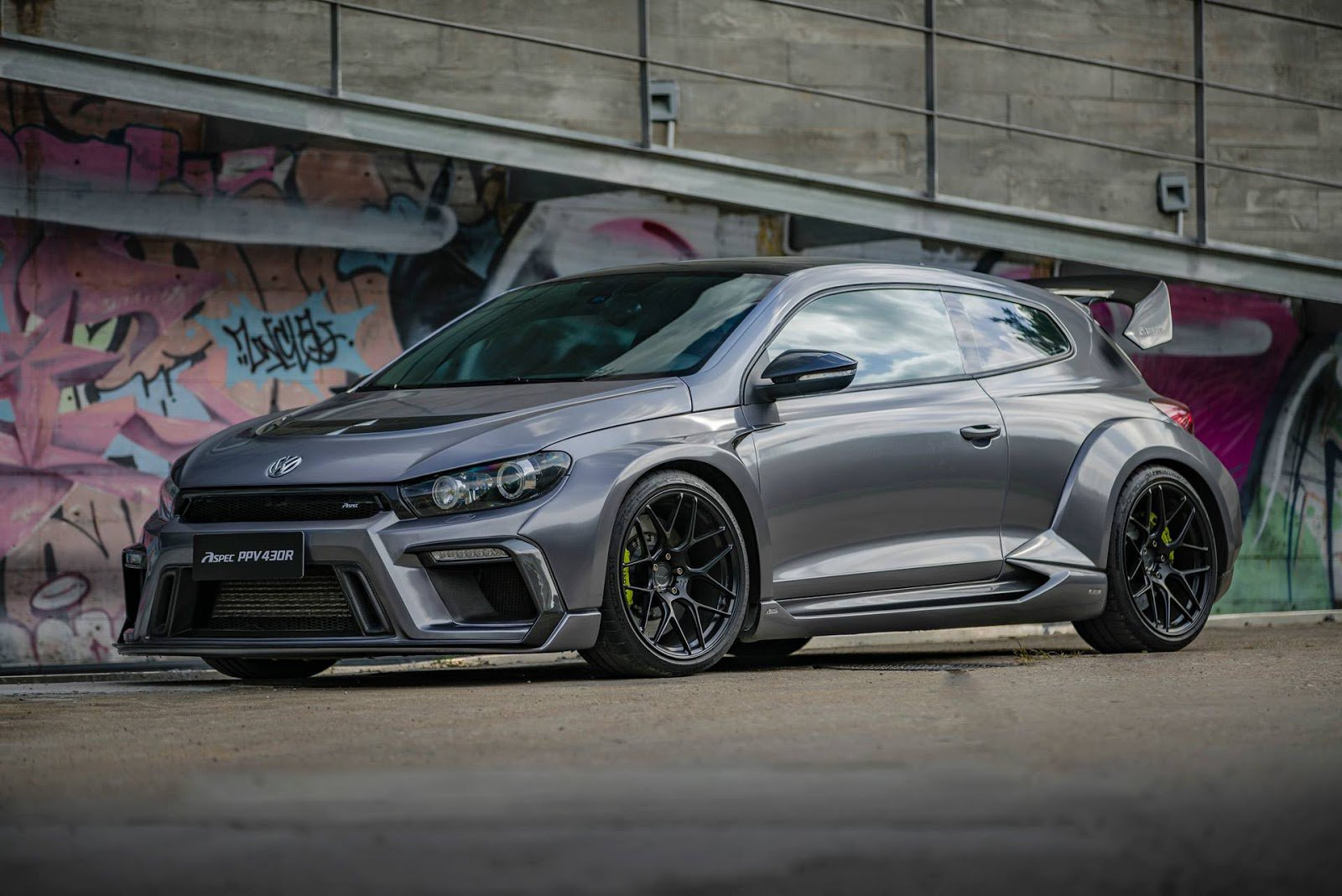 1477066658 vw scirocco r widebody monster by aspec comes from china 12 - Volkswagen VW Scirocco R от Aspec