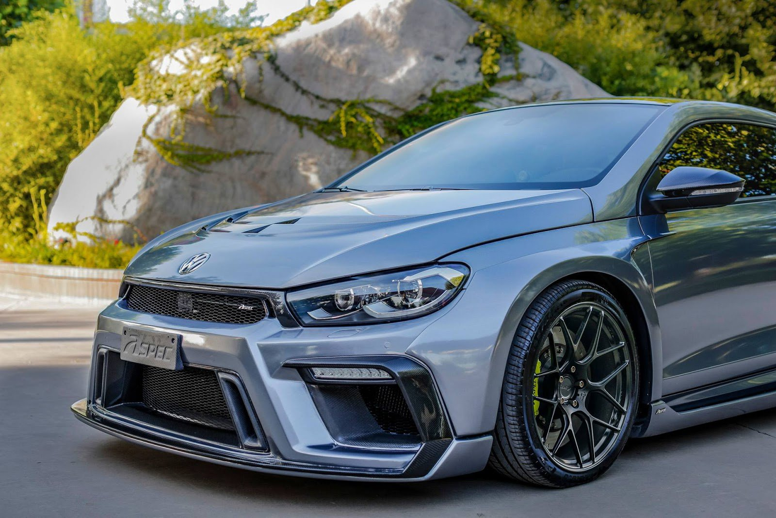 1477066707 vw scirocco r widebody monster by aspec comes from china 33 - Volkswagen VW Scirocco R от Aspec