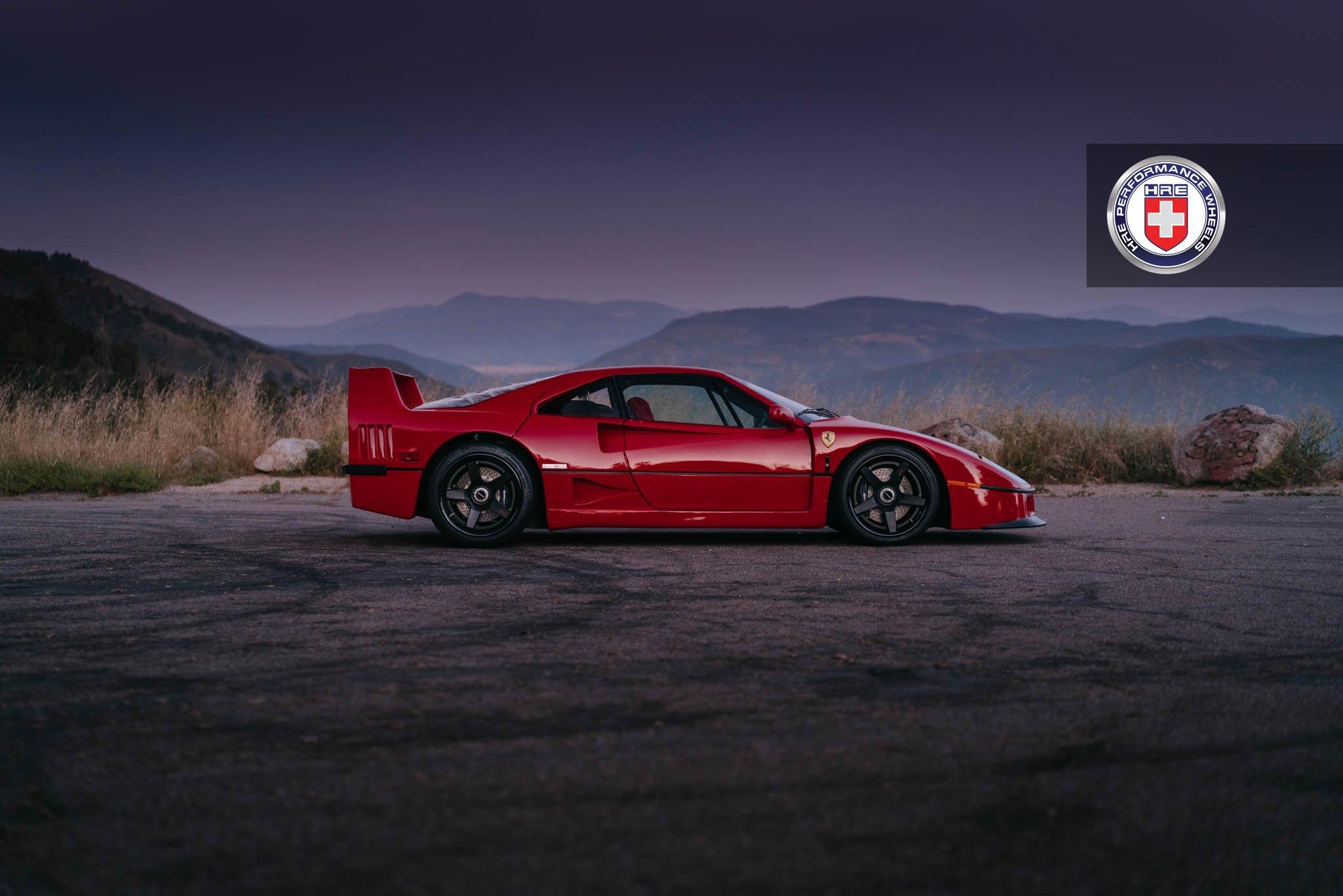 1477230194 ferrari f40 5 - Ferrari F40 на дисках от HRE Wheels