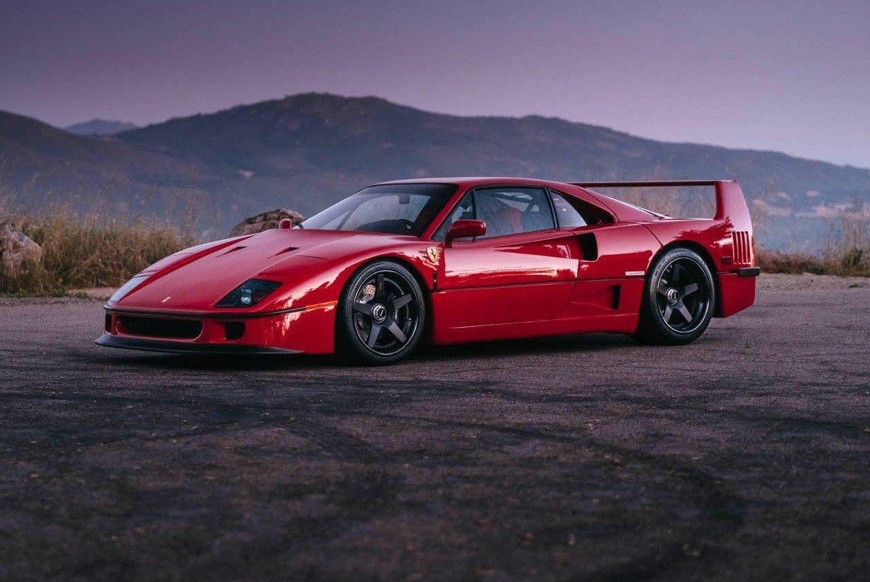 1477230195 ferrari f40 7 e1476303121328 - Ferrari F40 на дисках от HRE Wheels