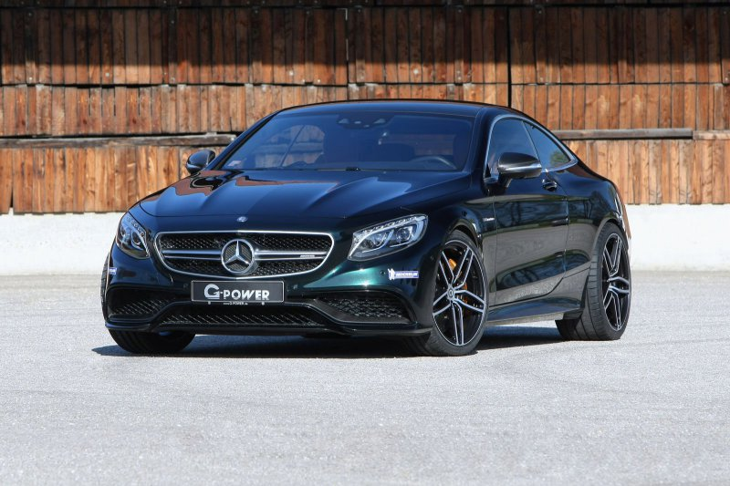 Mercedes-AMG S63 Coupe от G-Power