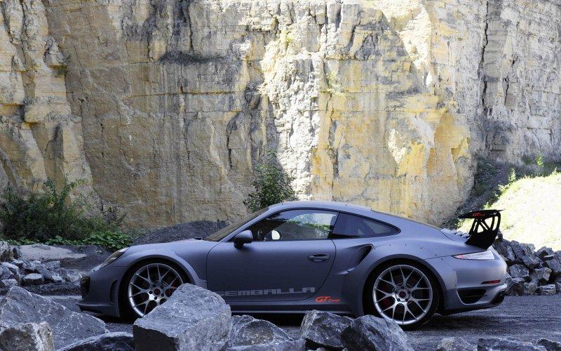 Porsche 911 Turbo от Gemballa для автошоу SEMA