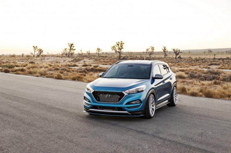 Hyundai представил свой новый концепт Vaccar Tucson Sport
