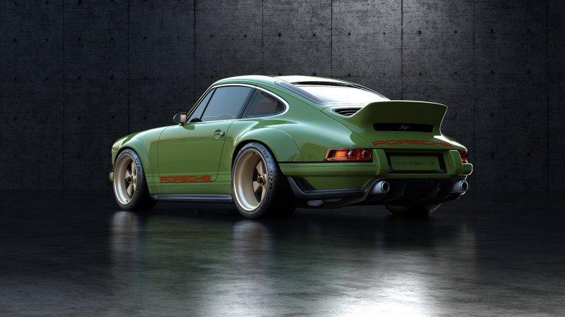Уникальный Porsche 911 от мастеров Singer и Williams