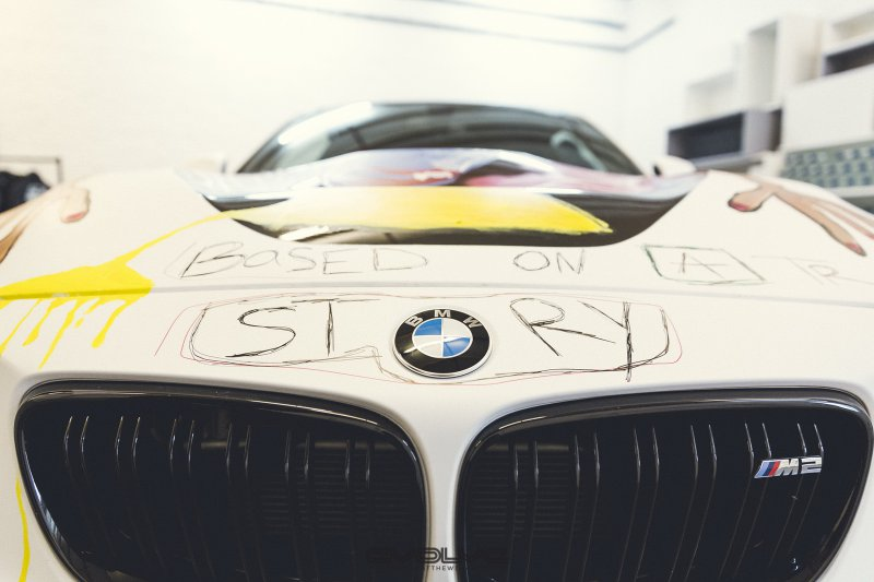 Evolve Automotive представили BMW M2 в уникальной окраске