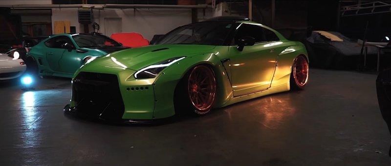Nissan GT-R в исполнении Tofu Garage