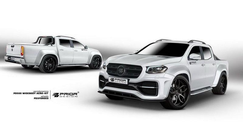 Mercedes-Benz X-Class в исполнении Prior Design