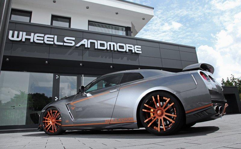 730-сильный Nissan GT-R CrankZilla от Wheelsandmore
