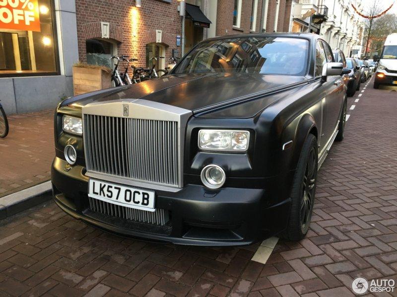 Редкий Rolls-Royce Phantom в исполнении Mansory