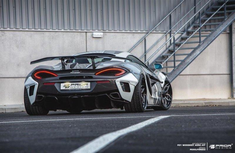 Prior Design разработал эродинамический комплект для McLaren 570S