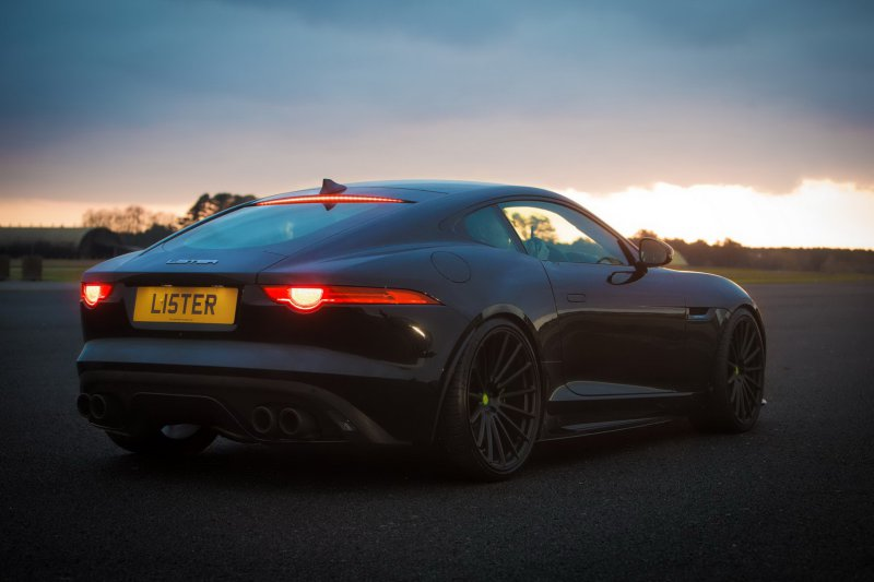 666-сильный Jaguar F-Type от компании Lister Motor Company