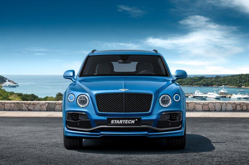 Мастера Startech сделали Bentley Bentayga еще мощнее