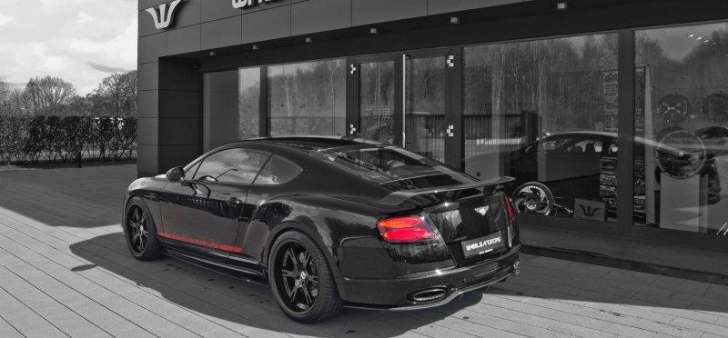 Wheelsandmore кастомизировали Bentley Continental 24