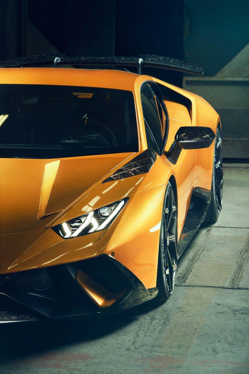 Lamborghini Huracan Performante в исполнении Novitec