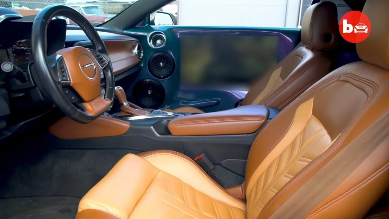 Chevrolet Camaro на 32-дюймовых дисках от Forgiato